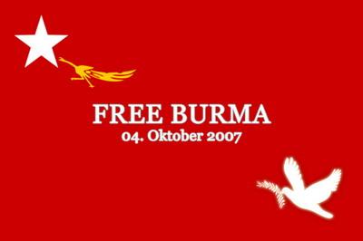 Free Burma Birmania Libre
