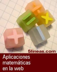 Aplicaciones matemáticas en la web